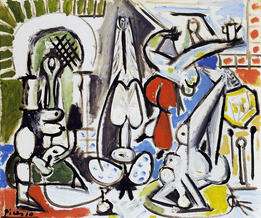 Пабло Пикассо. Алжирские женщины, версия С