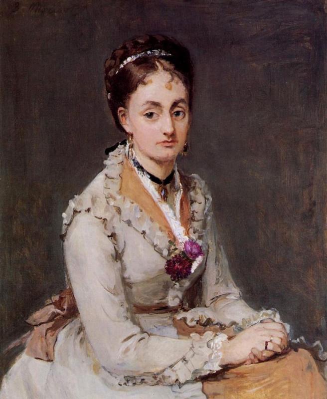 Berthe Morisot. Portrait Of Edma