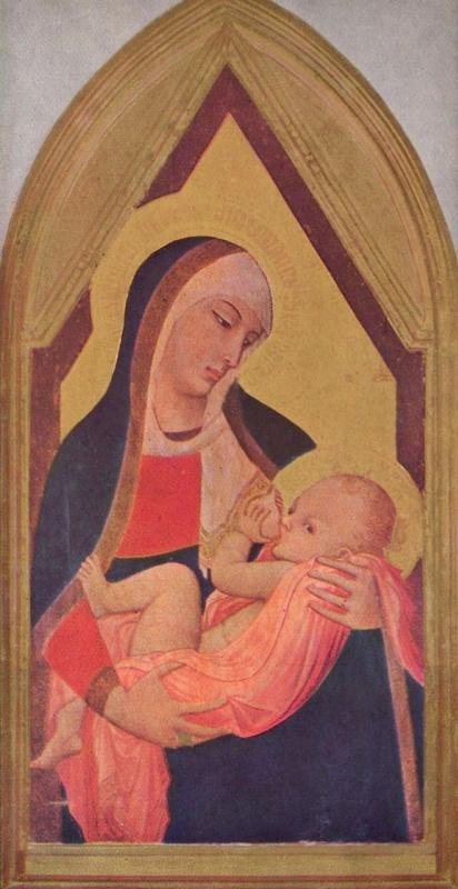 Амброджо Лоренцетти. Мадонна млекопитательница