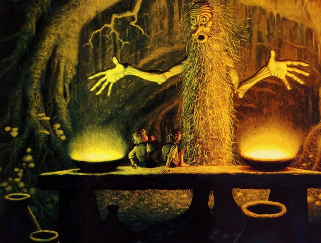 Грег Хильдебрандт. Волшебство