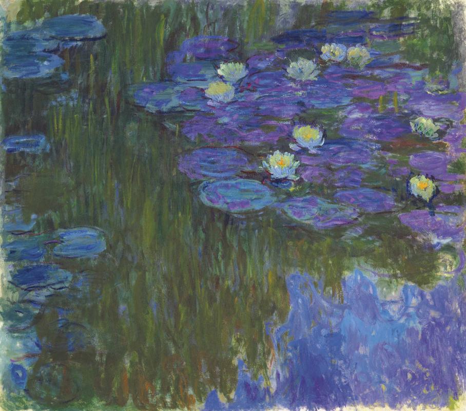 Claude Monet. Nymphéas en fleur