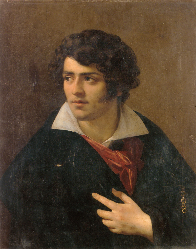 Энн-Луи Жироде де Русси-Триосон. Портрет молодого человека