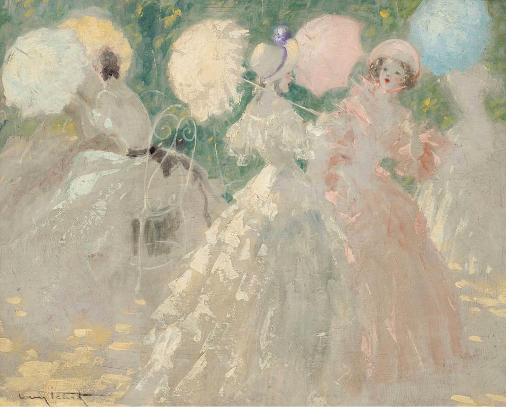 Icarus Louis France 1888 - 1950. Umbrellas.