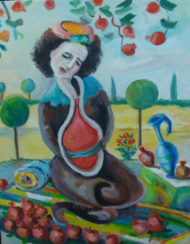 Art Eldar Ismailovic Orujov. SUFI