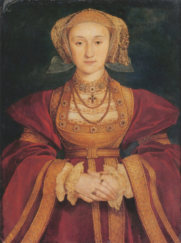 Hans Holbein the Younger. Portrait of Anna Klevskoy