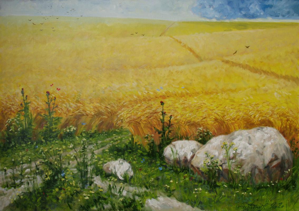 Alexander Nikolaevich Bezrodny. Cloud.Rye
