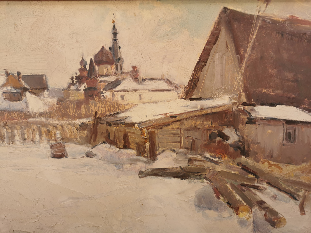 Konstantin Sergeevich Belokurov. Staraya Ladoga