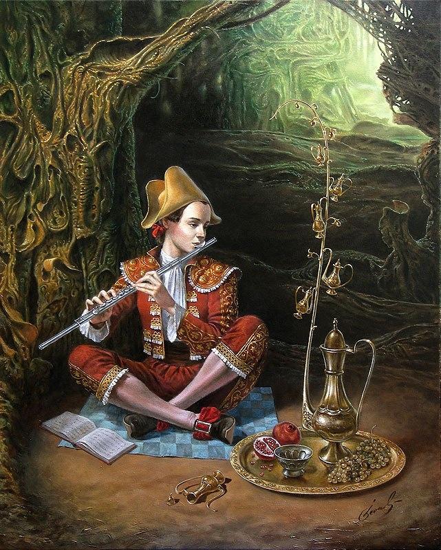 Mikhail Khokhlachov. The magic flute 2
