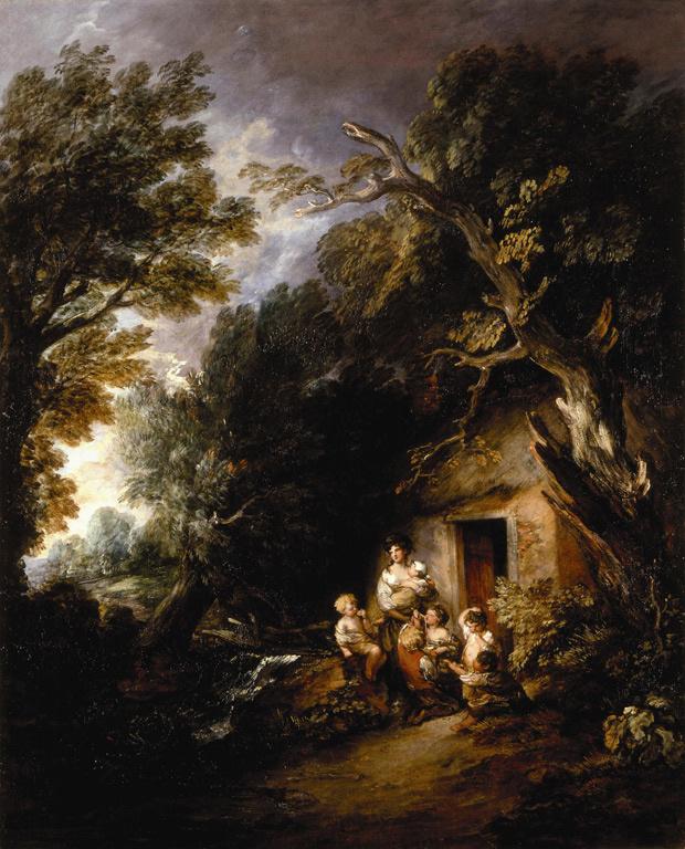 Thomas Gainsborough. At the door