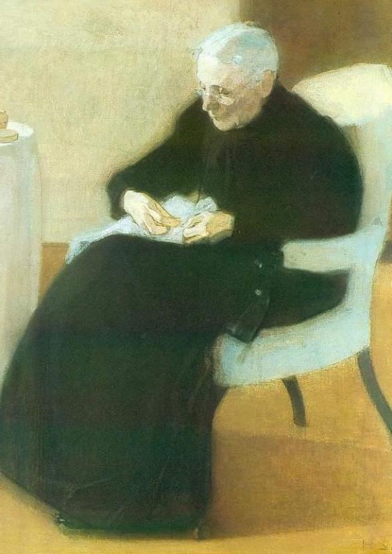 «Мама за шитьём» (1903)