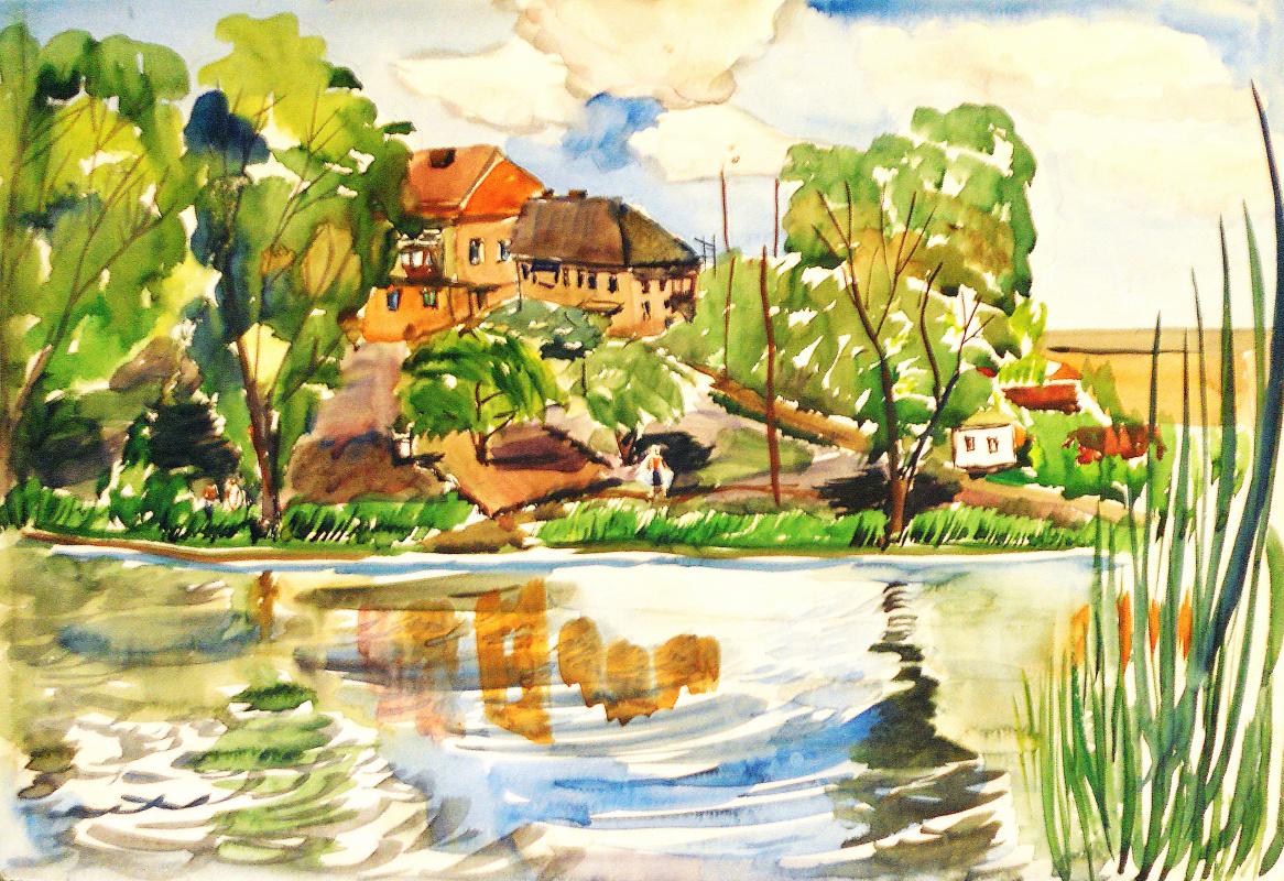 Natalia Evgenievna Vasilyeva. The Rotten River. Spring