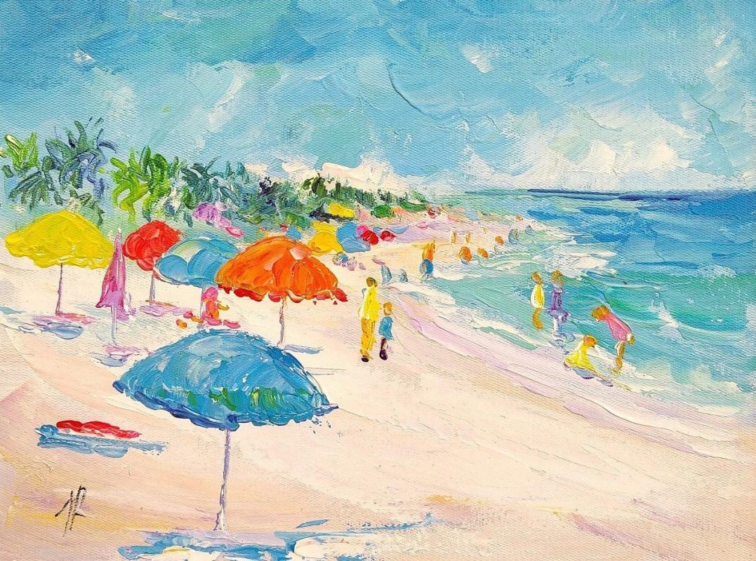 Jose Rodriguez. Summer stories. Multi-colored umbrellas N4