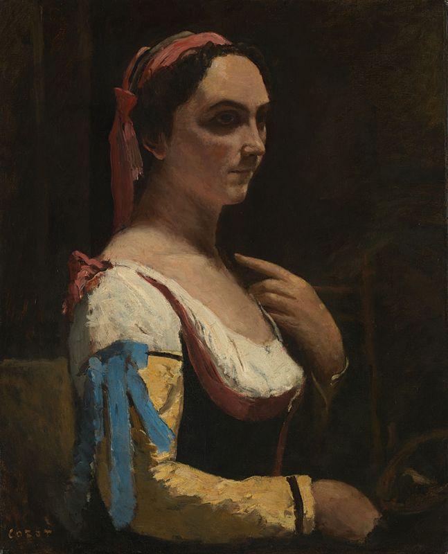 Камиль Коро. Итальянка