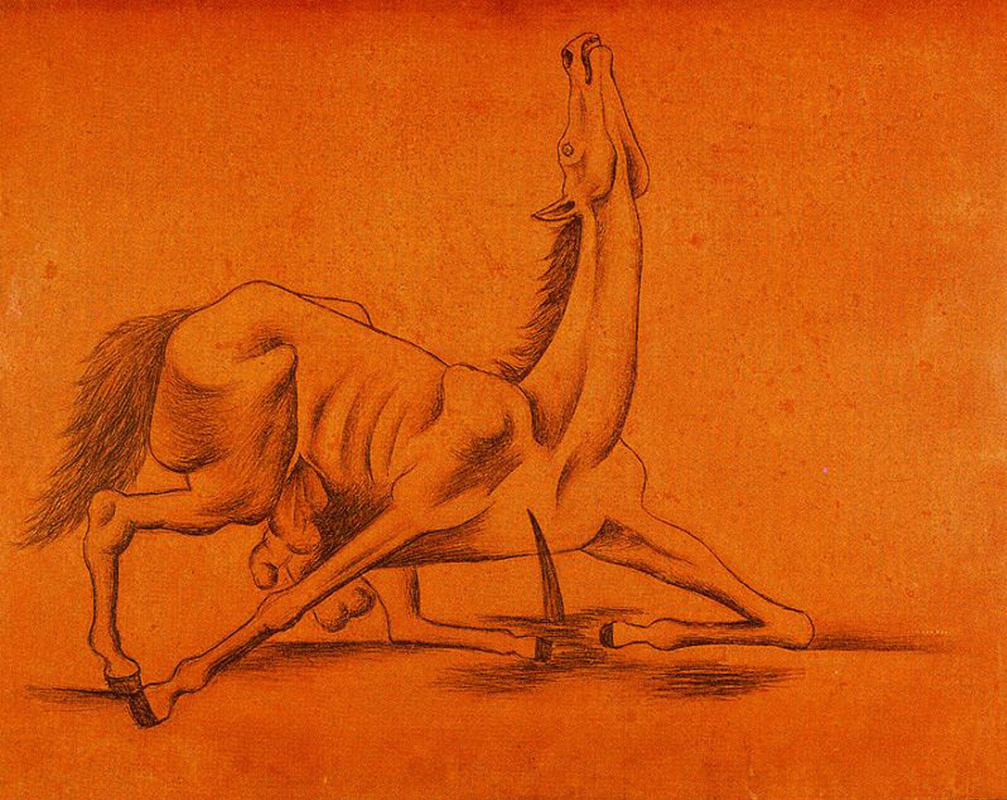 Пабло Пикассо. Выпотрошенная лошадь