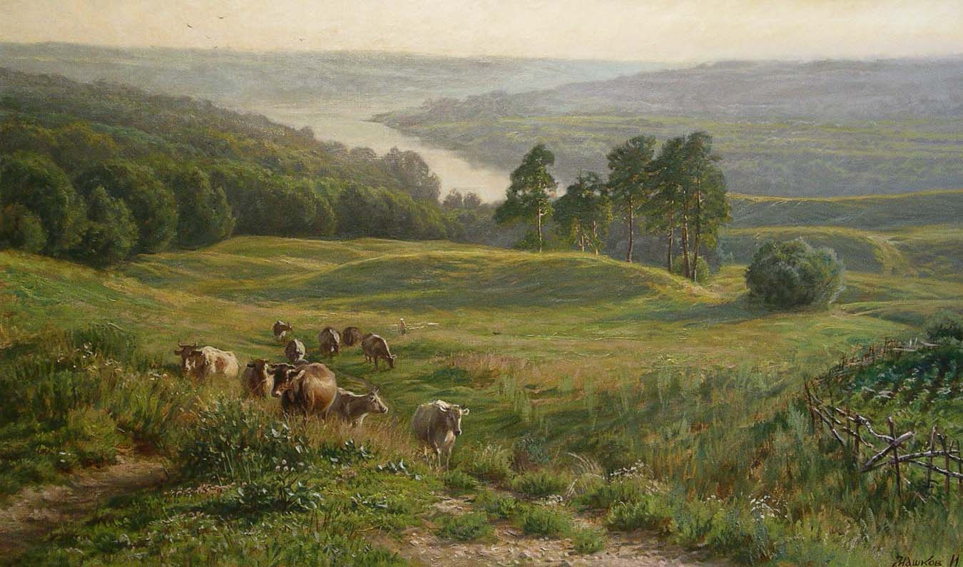 Игорь Геннадьевич Машков. At the end of the day. Herd return