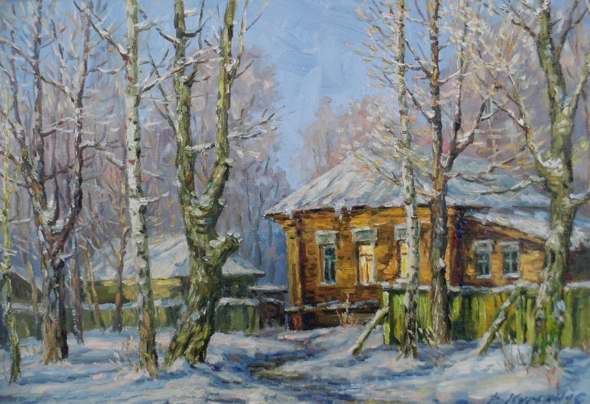 Victor Vladimirovich Kuryanov. Christmas Eve