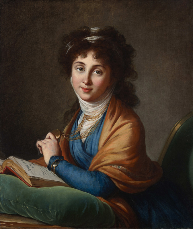Портрет Натальи Захаровны Колычевой, урожденной Хитрово