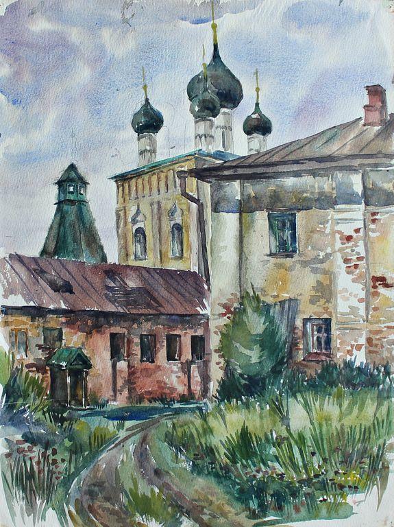 Eduard Stepanovich Kochergin. Rostov the Great. Temple