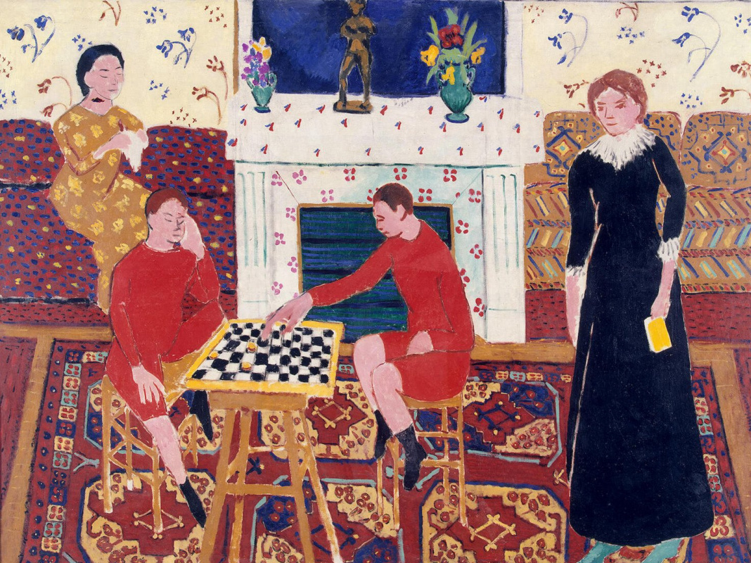 Анри Матисс. Семейный портрет