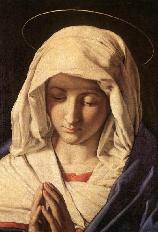 Джованни Батиста Сальви. Святая молитва