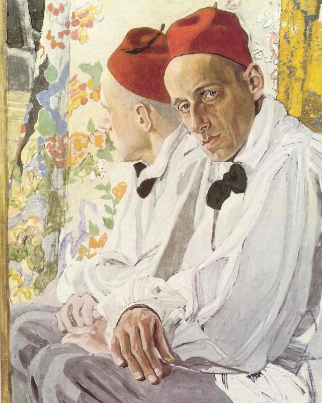 Alexander Golovin. Portrait Of Vsevolod Emilevich Meyerhold