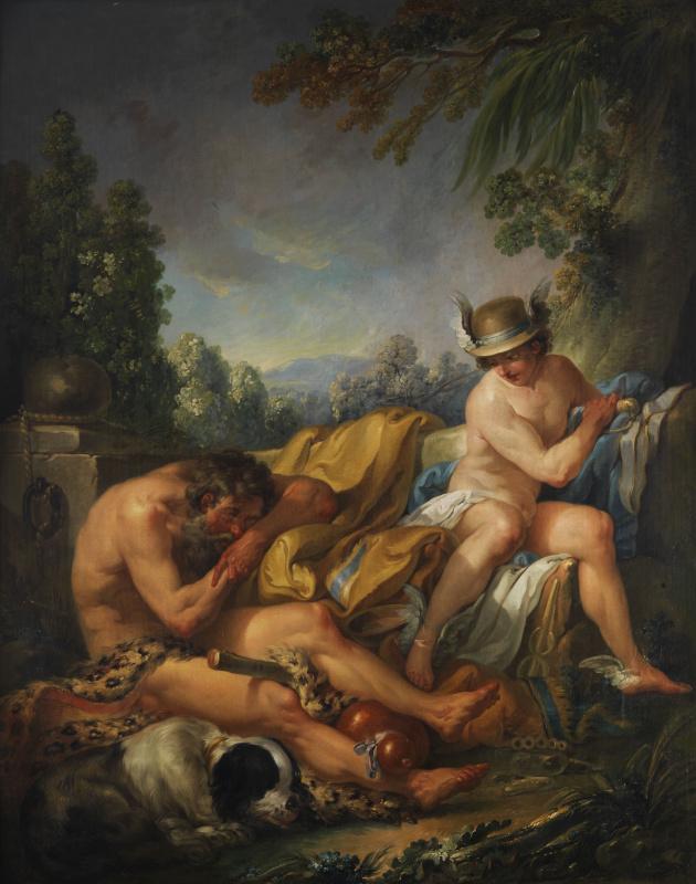 Charles Andre van Loo. Mercury and Argus