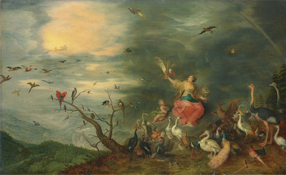 Jan Brueghel the Younger. Four elements. Air