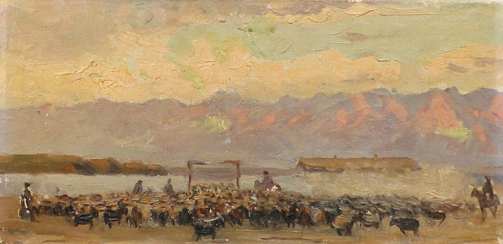 Leonid Fedorovich Deymant. Into the corral