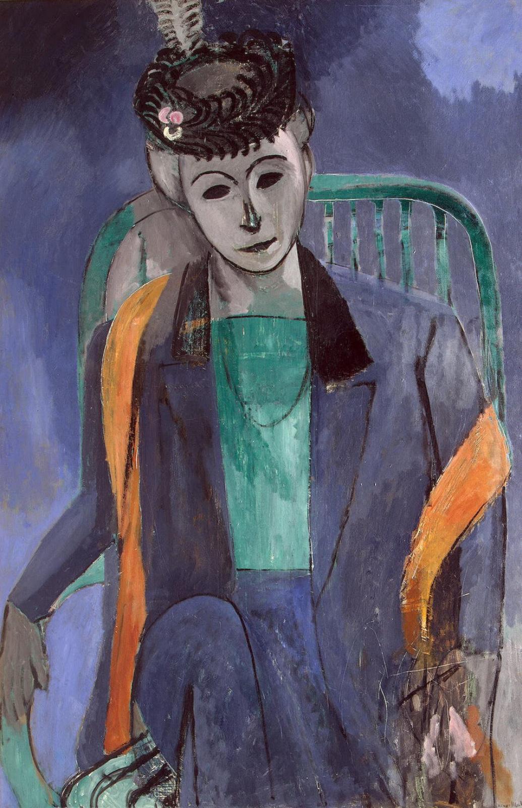 Анри Матисс. Портрет жены художника