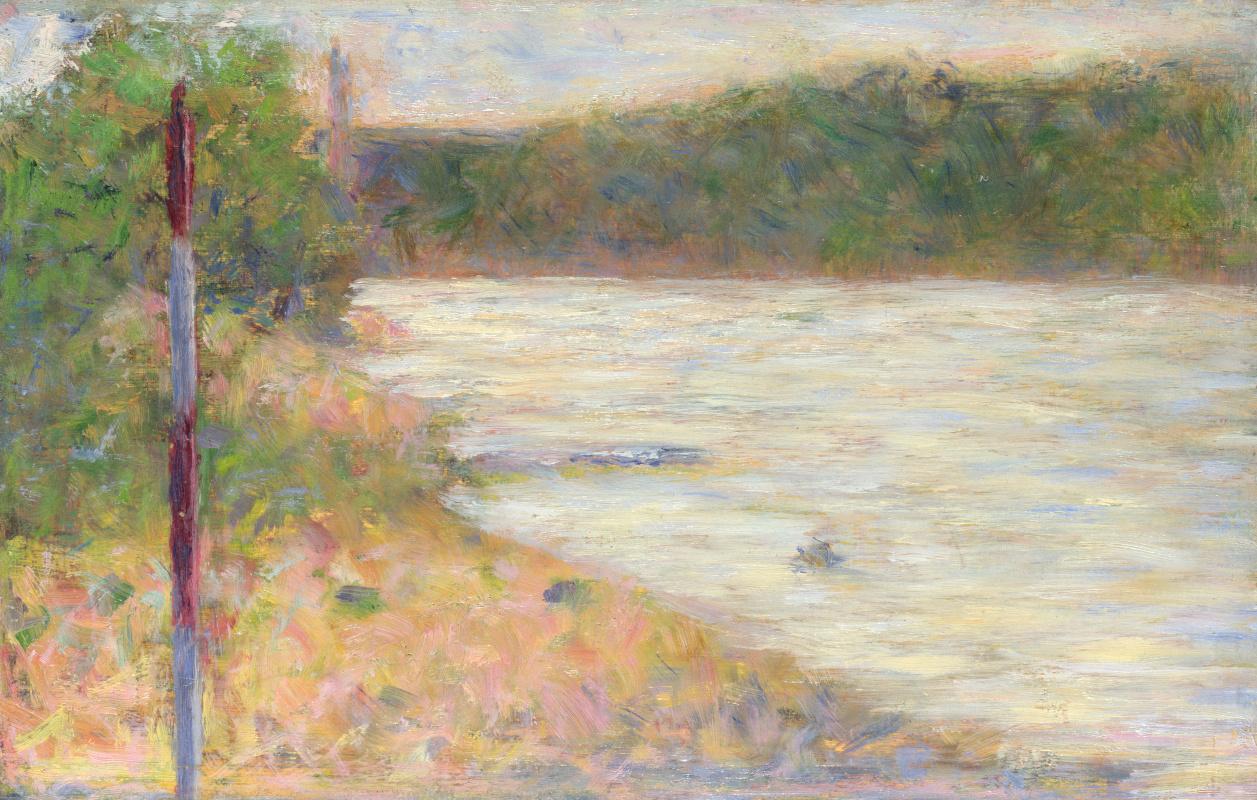 Жорж Сёра. Берег реки