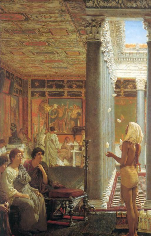 Лоуренс Альма-Тадема. Египетский жонглёр