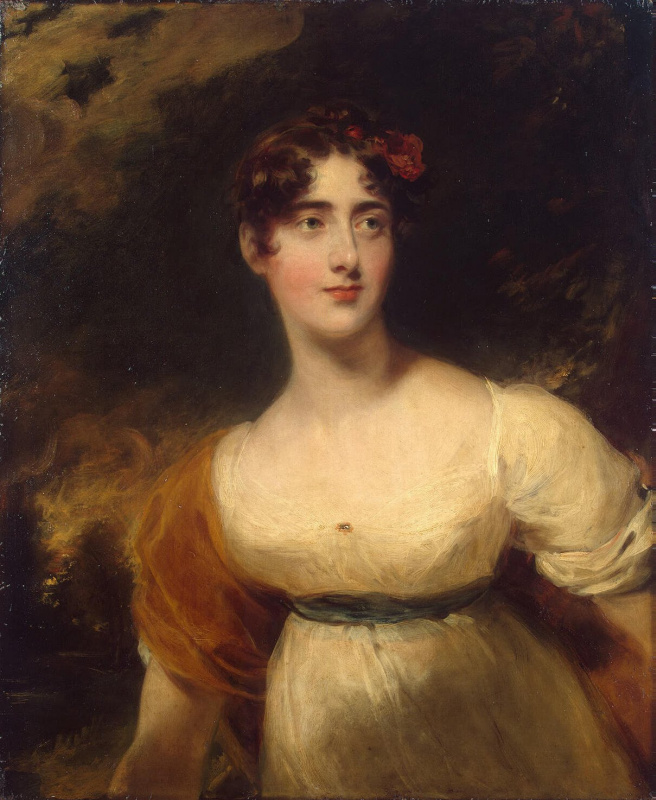 Thomas Lawrence. A Portrait Of The Wellesley-Pole