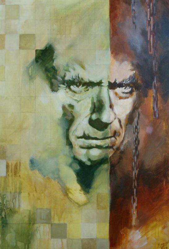 Микаэл Модеен. Мужской портрет
