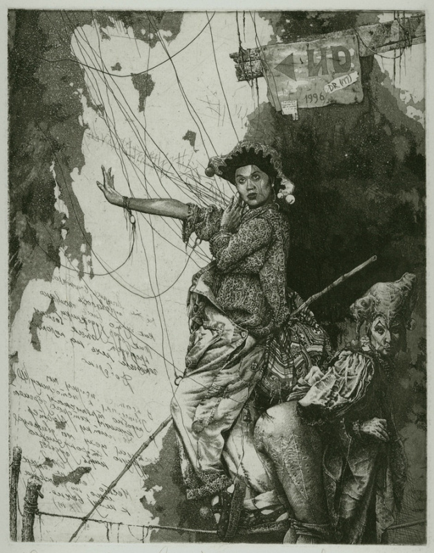 Alexandr Nikolaevich Steshenko. Шествие по проволоке. Мастер Кукол лист 2