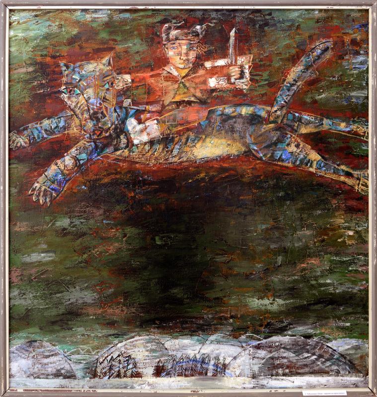 Сергей Лебедянцев. Иван-царевич на сером волке