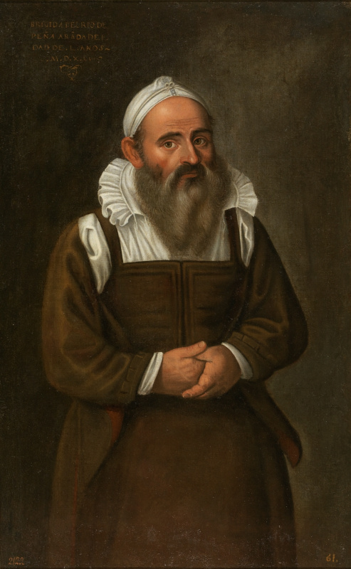 Juan Sanchez de Cotán. Brigida del Rio, bearded lady Penaranda
