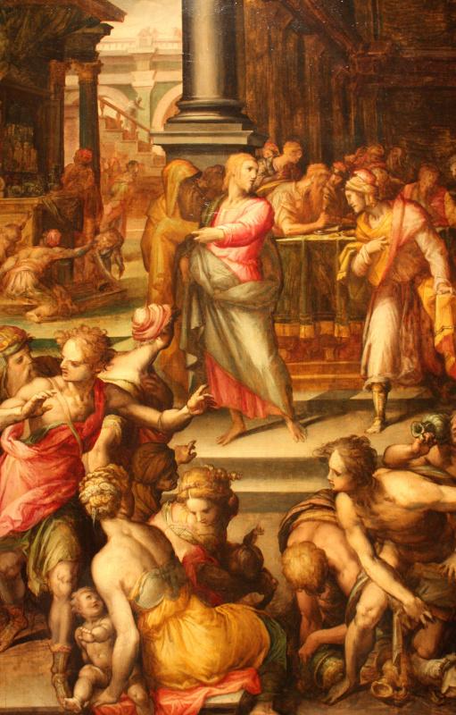 Джованни Баттиста Нальдини. Призвание апостола Матфея
