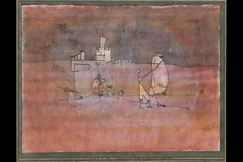 Пауль Клее. Сцена перед арабским городом