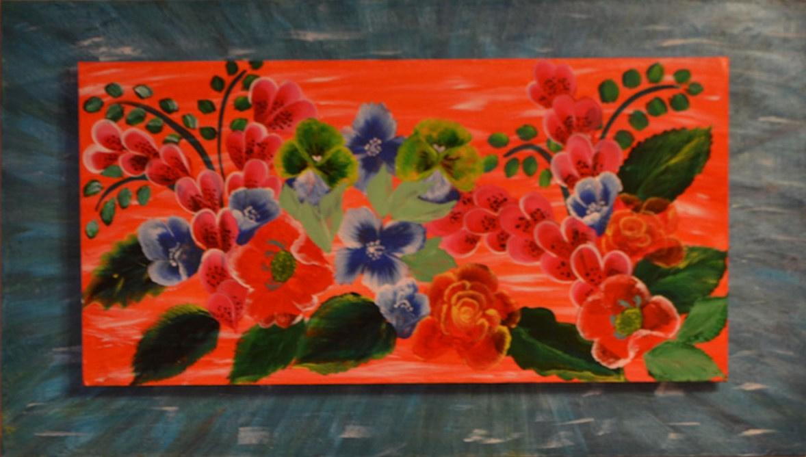 Tatiana Silivnec. Roses