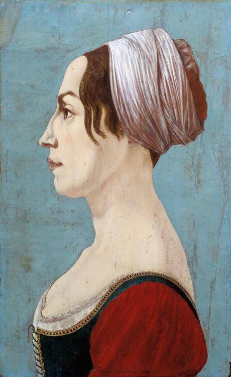 Пьеро дель Поллайоло. Женский портрет