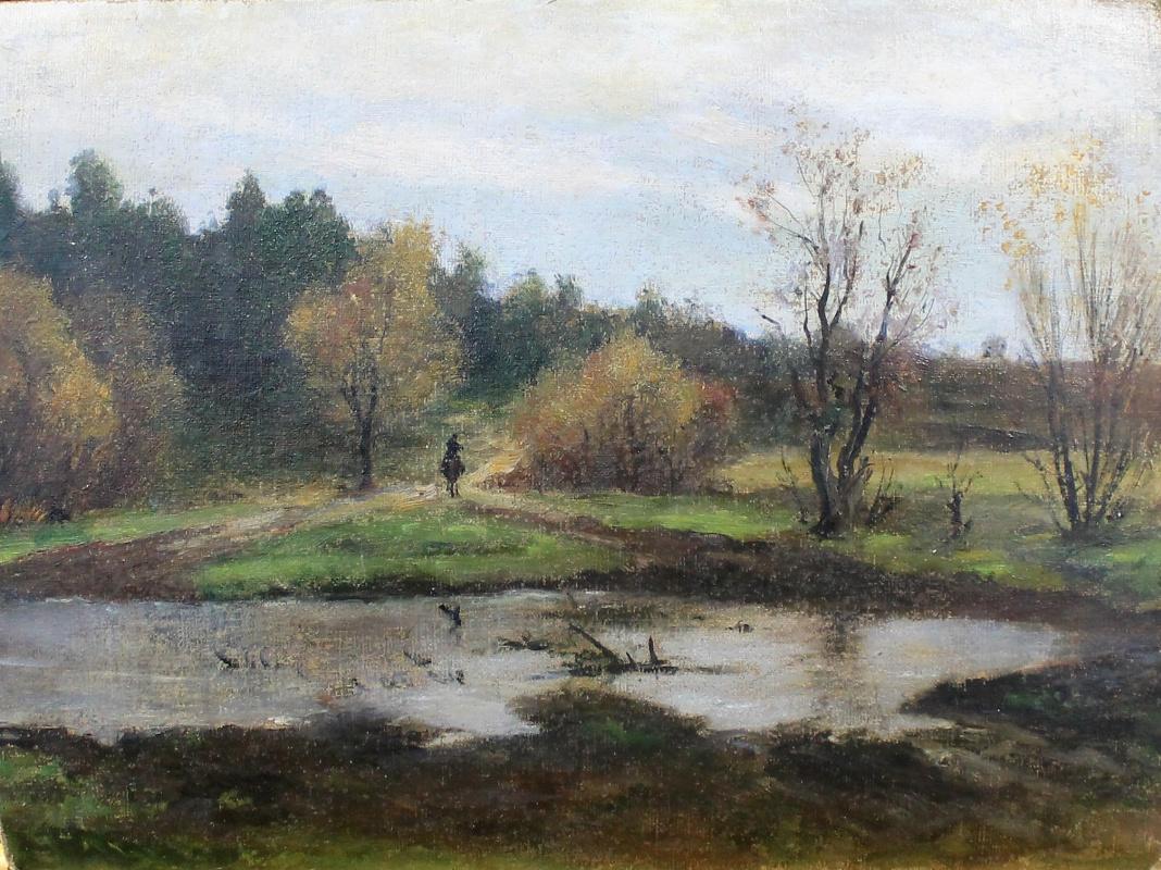 Vladimir Karlovich Menck. Autumn landscape