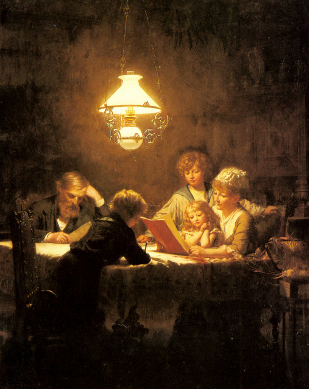 Кнут Эквалл. Урок чтения