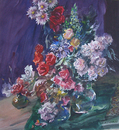 YULIANNA VLADIMIROVNA STAROVA. Flowers