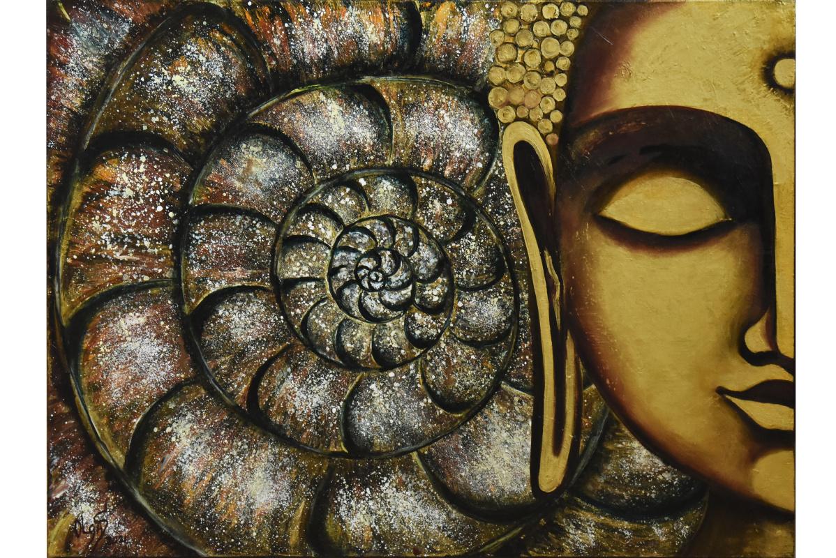Будда  и начало мандала