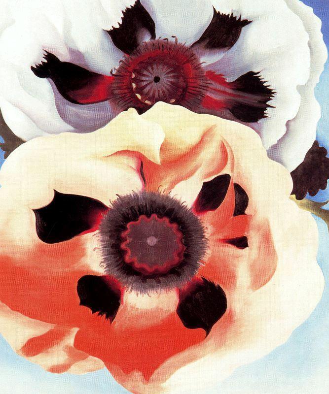 Джорджия О'Киф. Цветы