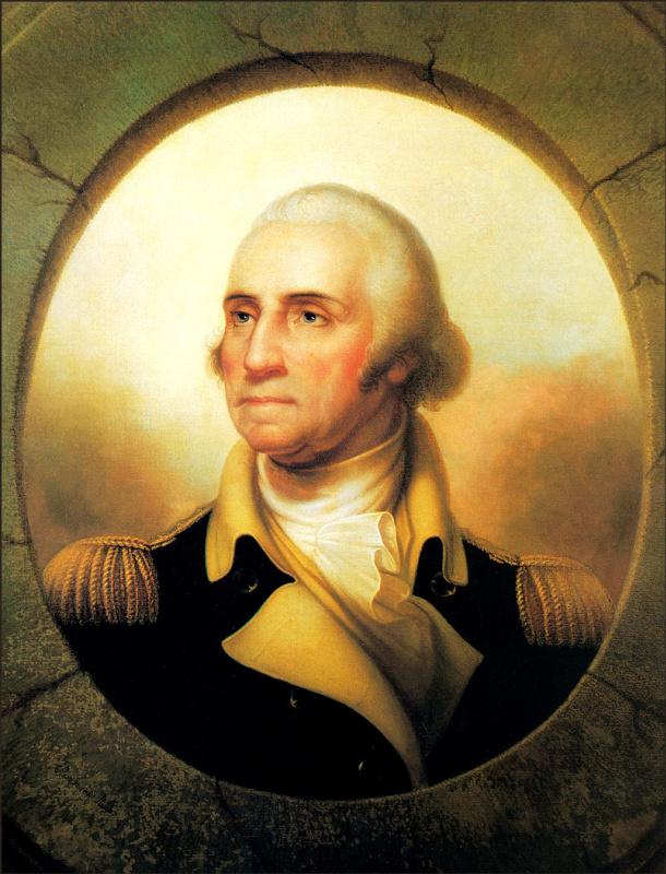 Рембрандт Пил. Джордж Вашингтон