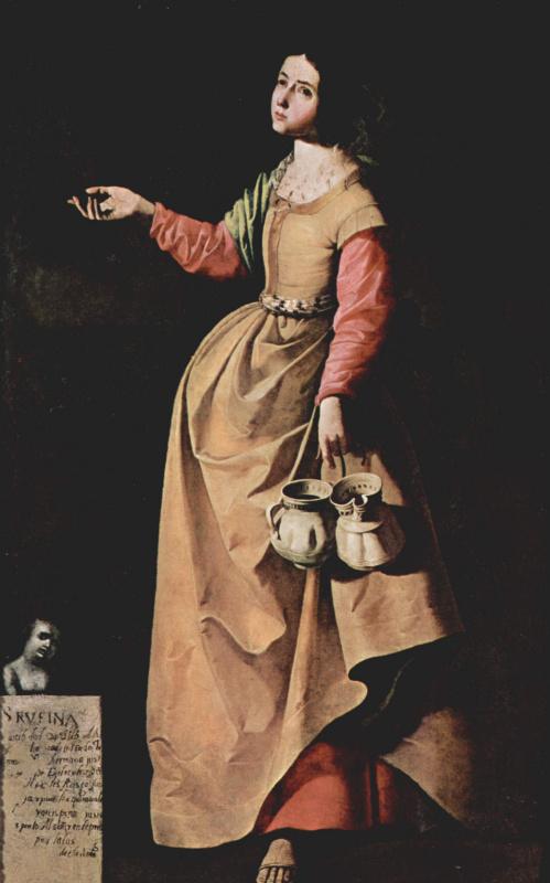 Франсиско де Сурбаран. Св. Руфина Севильская