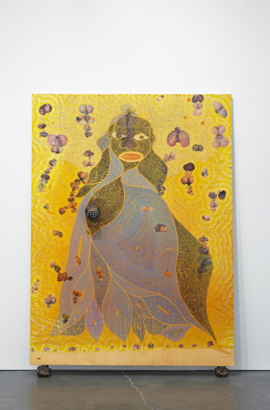 Chris Ofili. The Blessed Virgin Mary