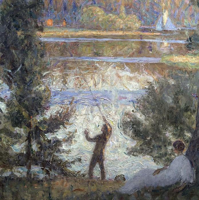 Sven Richard Berg. Park landscape, Tireso.