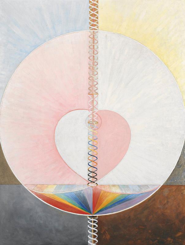 "Hilma af Klint. Series ""Dove"", №1"